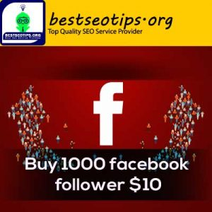 Buy 1000 facebook follower