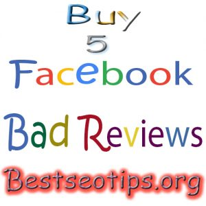Buy Bad Facebook Reviews