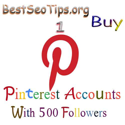 Buy Pinterest Accounts With Followers