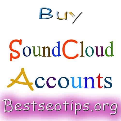 Buy Sound Cloud Accounts