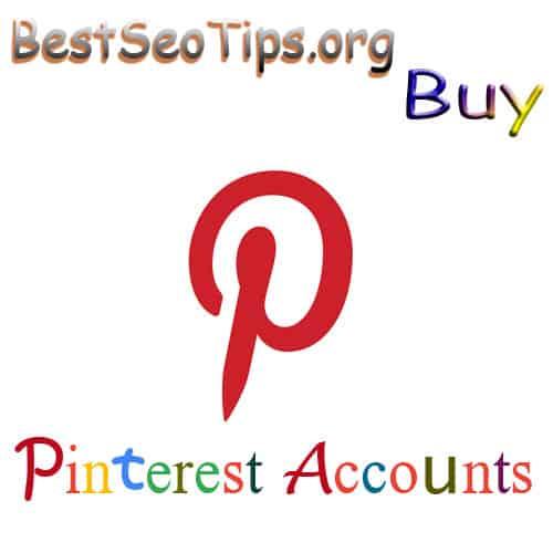 Buy Pinterest Acccounts
