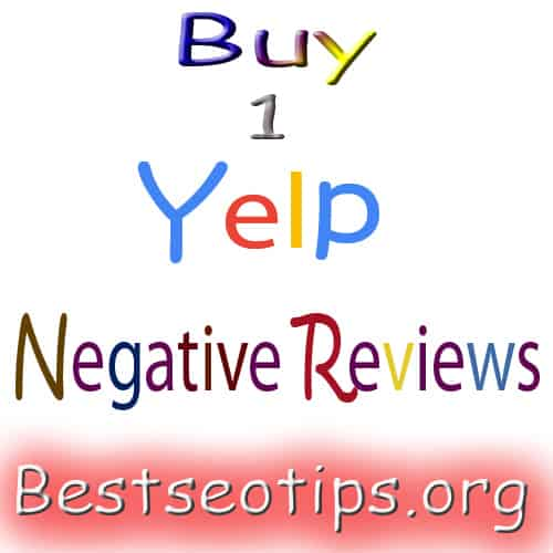 Buy Yelp Negative Reviews