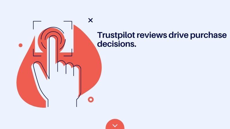 Trustpilot reviews drive purchase decisions
